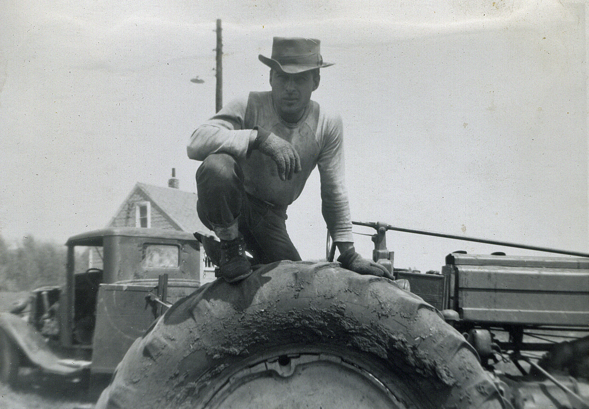 My Dad, Albert Scheff, the man with the HUGE shoulders.