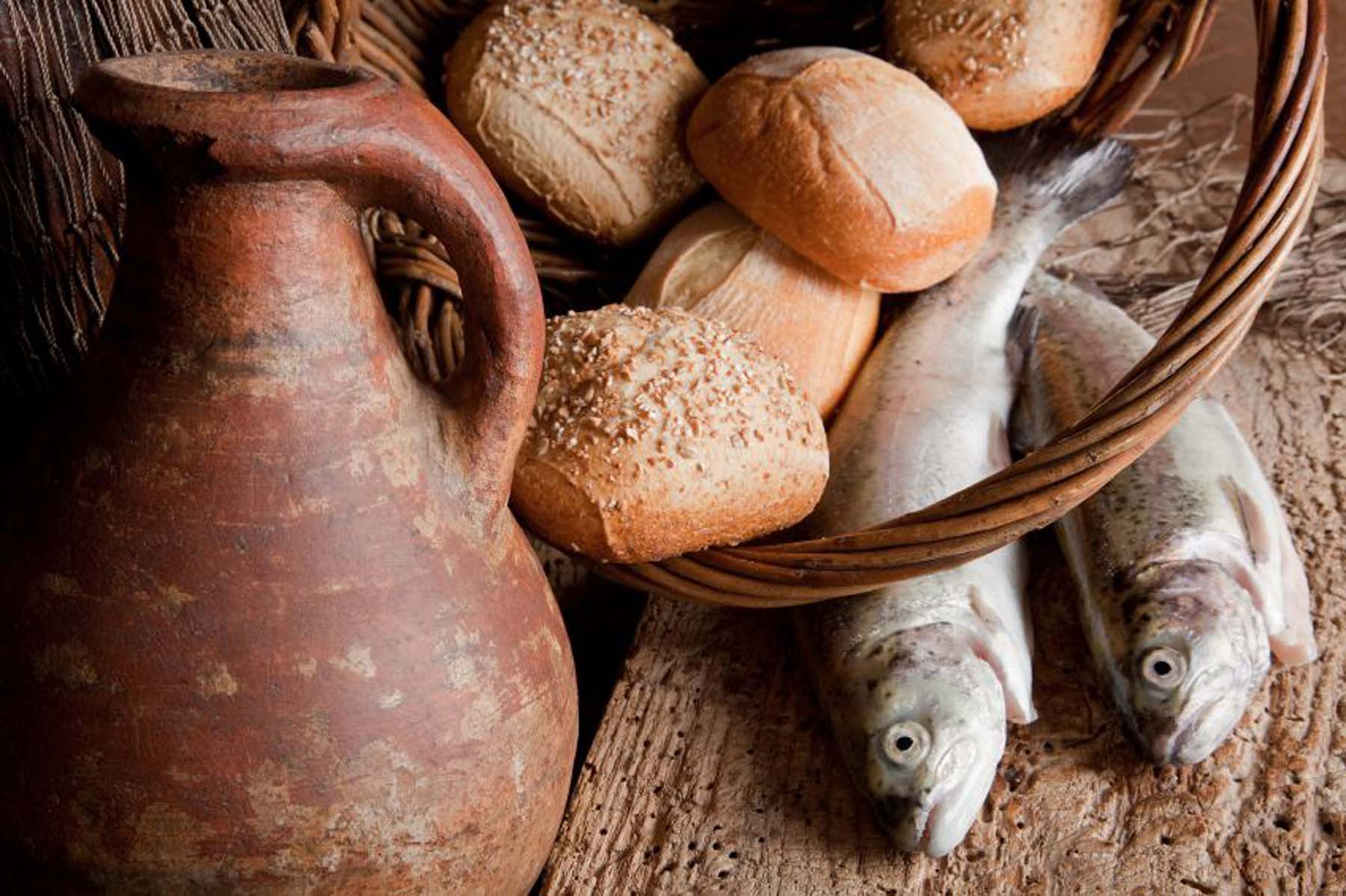 Bread, Fish, Miracles, Leftovers