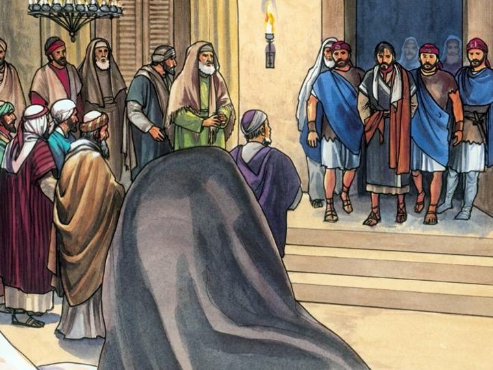 Jesus on Trial, Pastor Seth Johnson