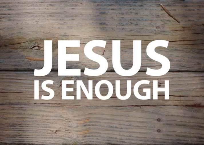 Jesus is Enough, sermon by Pastor Seth Johnson